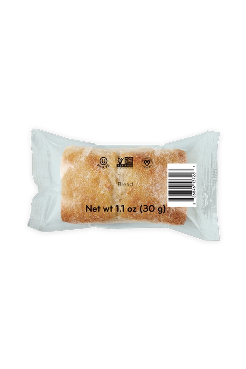 Fully Sealed Bread - Original Individually Wrapped Bite